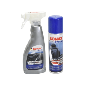 Sonax Xtreme SET Interior Cleaner dan Leather Care Foam 2 pcs