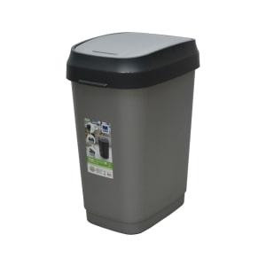 kis tempat sampah ayun 25 liter - abu-abu