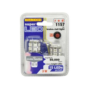 RAZON SET LAMPU REM DAN TAIL LIGHT MOBIL LED 3W - MERAH