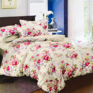 KRISHOME BED COVER 210X210 CM KING 424