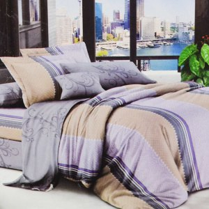 KRISHOME BED COVER 150X210 CM SINGLE  DF121465AA1