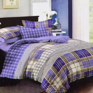 KRISHOME BED COVER 210X210 CM KING 551