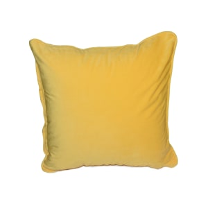 SARUNG BANTAL SOFA VELVET 45X45 CM - LEMON