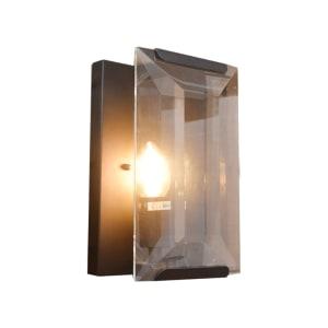 LAMPU DINDING ROCOCO - HITAM