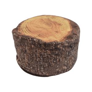 KURSI BANTAL FOREST 60X35 CM - COKELAT