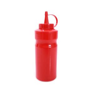 krishome botol saus 370  ml - merah