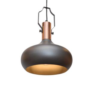 LAMPU GANTUNG HIAS CARABEL 24X100 CM - ABU-ABU