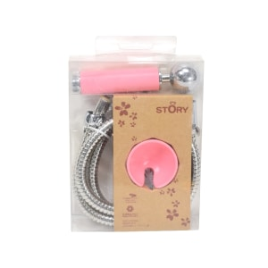 JUSTIME SET SHOWER - pink
