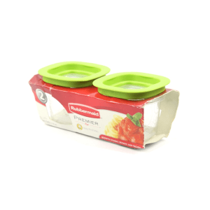 RUBBERMAID PREMIER SET WADAH MAKANAN 118 ML 2 PCS