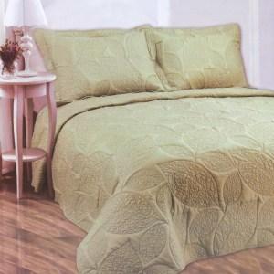 BED COVER SET 240X250 CM - HIJAU