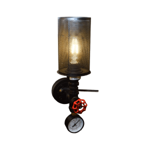 LAMPU DINDING VALVE 11X40X19 CM - HITAM