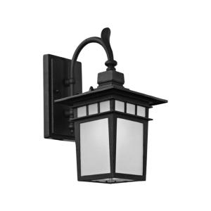 EGLARE LAMPU DINDING KOBE DOWNSIDE E27 - HITAM