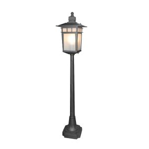 EGLARE LAMPU TAMAN MIDWAY E27 - HITAM