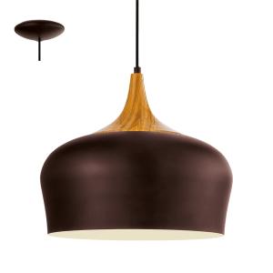 EGLO LAMPU GANTUNG HIAS OBREGON - cokelat