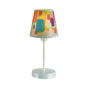 EGLARE LAMPU MEJA 3D COLOURFUL E14