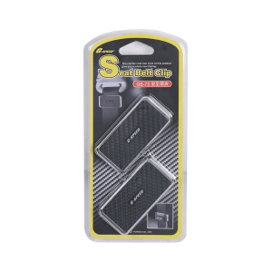 G-SPEED SEAT BELT CLIP - HITAM