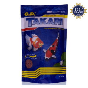 CP PETFOOD TAKARI PELET IKAN MIX 2MM 250GR 2PCS