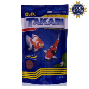 CP PETFOOD TAKARI PELET IKAN MIX 2MM 500GR