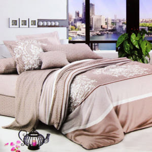 KRISHOME BED COVER 210X210 CM king DF122303AA1