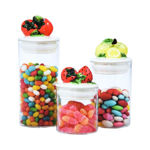 APPETITE SET TOPLES KACA FRUITY 3 PCS