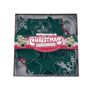 FOX RUN SET CETAKAN KUE CHRISTMAS 7 PCS