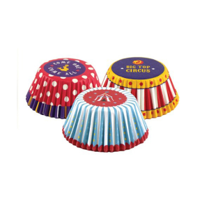 FOX RUN CUP MUFFIN CIRCUS 75 PCS
