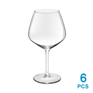 LIBBEY CARRE DE LUXE SET GELAS WINE 570 ML 6 PCS