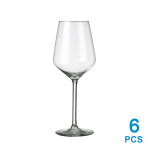 LIBBEY CARRE BX SET GELAS WINE 380 ML 6 PCS
