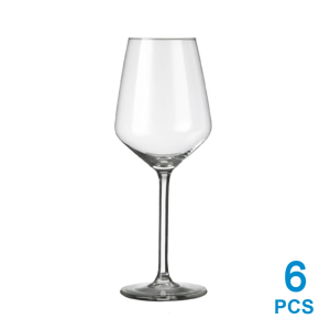 LIBBEY CARRE BX SET GELAS WINE 290 ML 6 PCS
