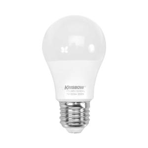 KRISBOW LAMPU BOHLAM LED 7W 600LM - KUNING