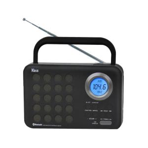 KRIS RADIO PORTABEL TR-472BT - HITAM