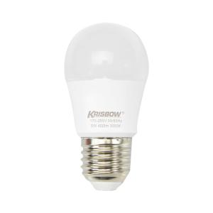 KRISBOW LAMPU BOHLAM LED 5W 450LM - KUNING