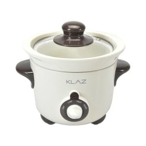 KLAZ SLOW COOKER 600 ML - PUTIH