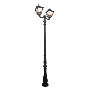 KRISBOW LAMPU TAMAN CLASSIC PILAR 2L 3MTR - HITAM
