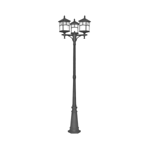 EGLARE FUJI LAMPU TAMAN 3L - HITAM
