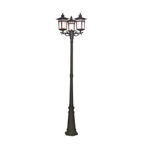 EGLARE KOBE LAMPU TAMAN 3L - HITAM