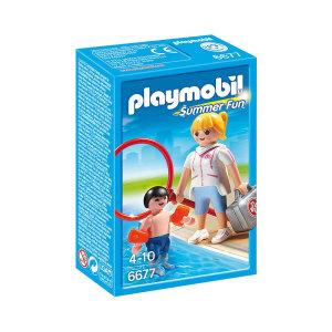 PLAYMOBIL POOL SUPERVISOR 6677