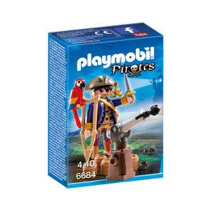 PLAYMOBIL PIRATES CAPTAIN 6684
