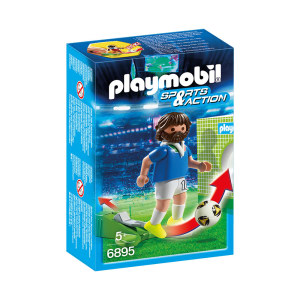 PLAYMOBIL SOCCER PLAYER ITALY 6895