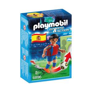 PLAYMOBIL SOCCER PLAYER SPAIN 6896