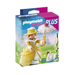 PLAYMOBIL VICTORIAN LADY WITH POND 5410