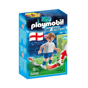 PLAYMOBIL SOCCER PLAYER ENGLAND 6898