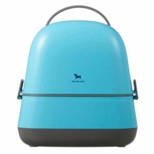 POT DE MIEL KOREA LUNCH BOX SPOON FORK FOR KIDS BABY - blue