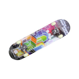 KINETIC DOUBLE KICK PAPAN SKATEBOARD CITY 78.7X20 CM
