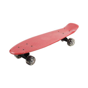 PAPAN SKATEBOARD SINGLE KICK 57X15 CM - MERAH