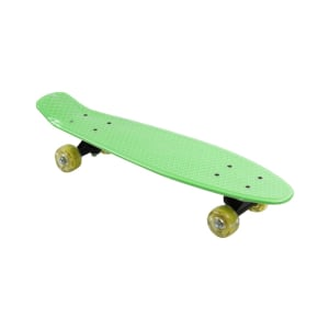 PAPAN SKATEBOARD SINGLE KICK 57X15 CM - HIJAU