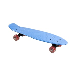 PAPAN SKATEBOARD SINGLE KICK 57X15 CM - BIRU