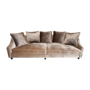 HADDINGTON SOFA 3 DUDUKAN - COKELAT