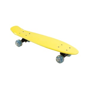 PAPAN SKATEBOARD SINGLE KICK 57X15 CM - KUNING