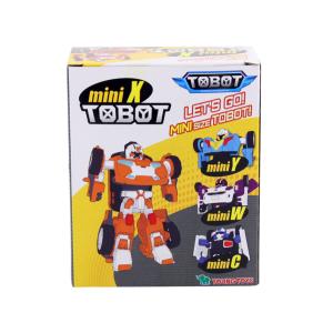 TOBOT FIGURE MINI X ROBOT MAINAN TRANSFORMASI